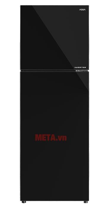 Tủ lạnh Inverter Aqua AQR-IG386DN màu đen tuyền cho không gian ngôi nhà tiện nghi hơn
