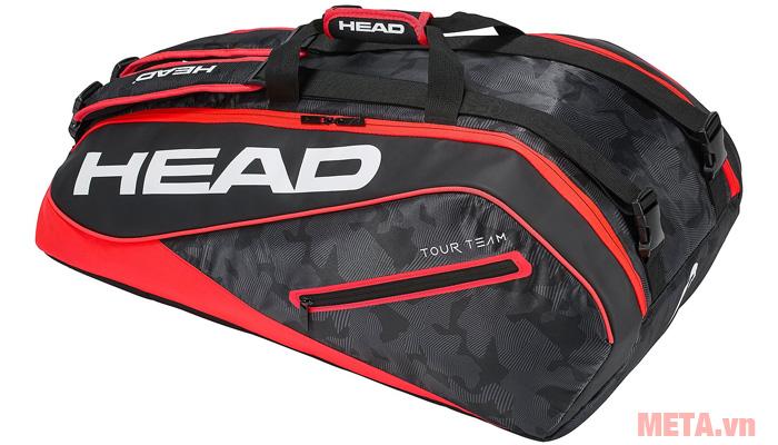 Bao vợt tennis HEAD Tour Team 9R Supercombi 283118 màu đỏ