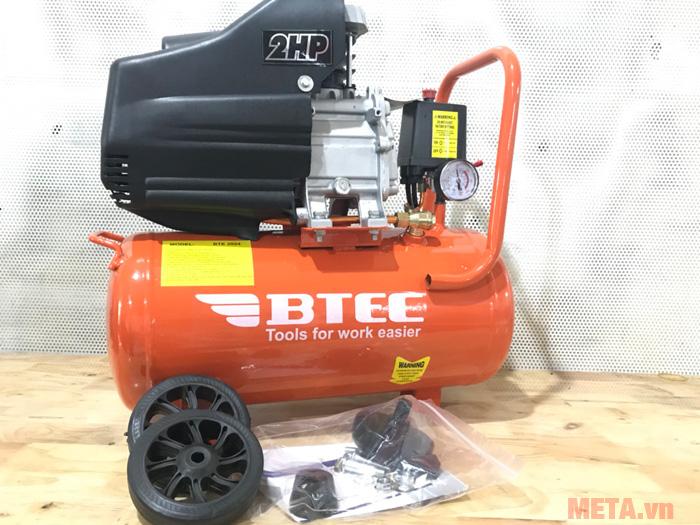 Hình ảnh máy nén khí 2HP Btec BT-2024