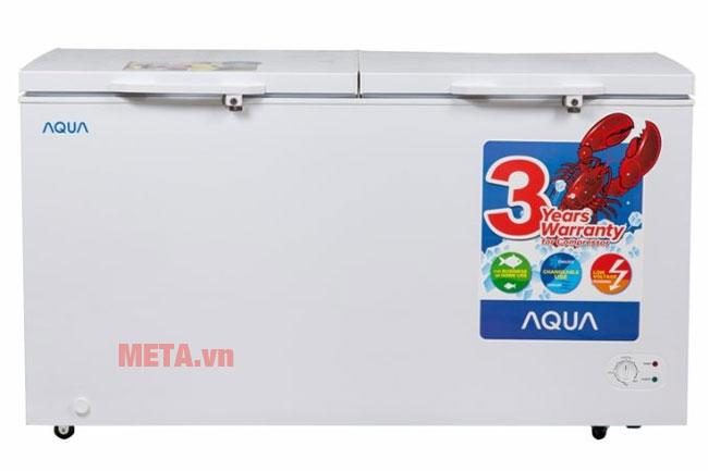 Tủ đông mát Aqua AQF-R520 có 1 ngăn đông và 1 ngăn mát