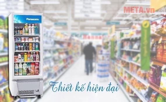 Thiết kế hiện đại phù hợp với các siêu thị mini...