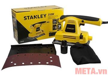 Bộ sản phẩm máy chà nhám Stanley SSS310