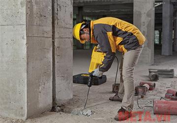 Máy đục bê tông phù hợp với các công trường xây dựng