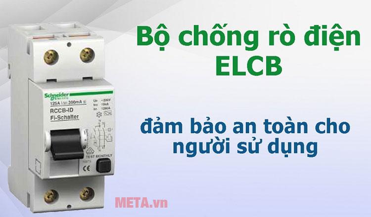 Cầu dao ELCB mang tới sự an toàn khi sử dụng