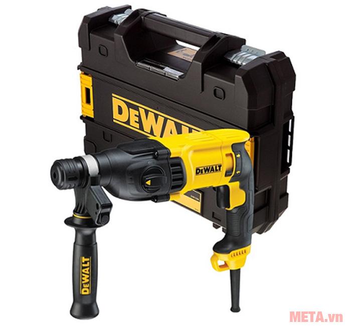 Bộ sản phẩm máy khoan búa Dewalt D25133K