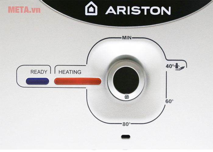 Các nút điều chỉnh của bình nóng lạnh