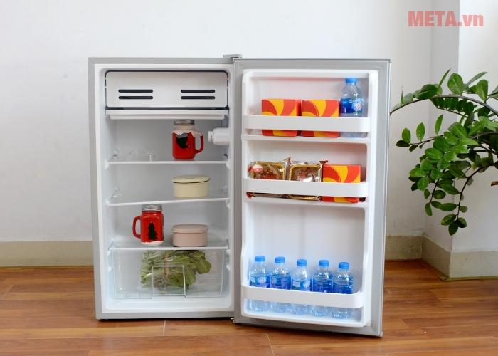 Hình ảnh tủ lạnh mini Midea HS-122SN