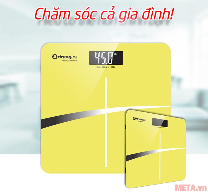 Hình ảnh cân sức khỏe ArirangLife AR-S18I