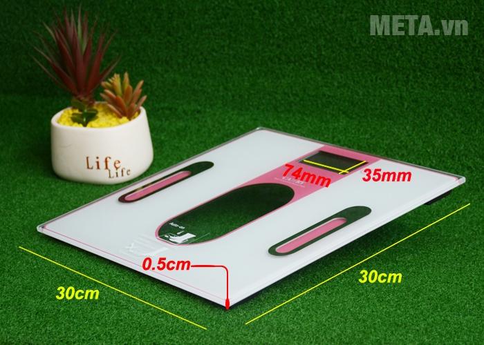 Kích thước cân sức khỏe Camry EF971-S36