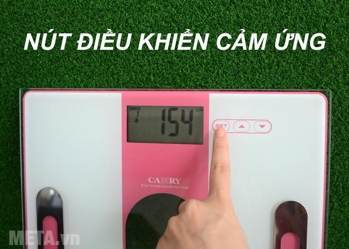 Cân sức khỏe và kiểm tra độ béo Camry EF971-S36 có nút điều khiển cảm ứng