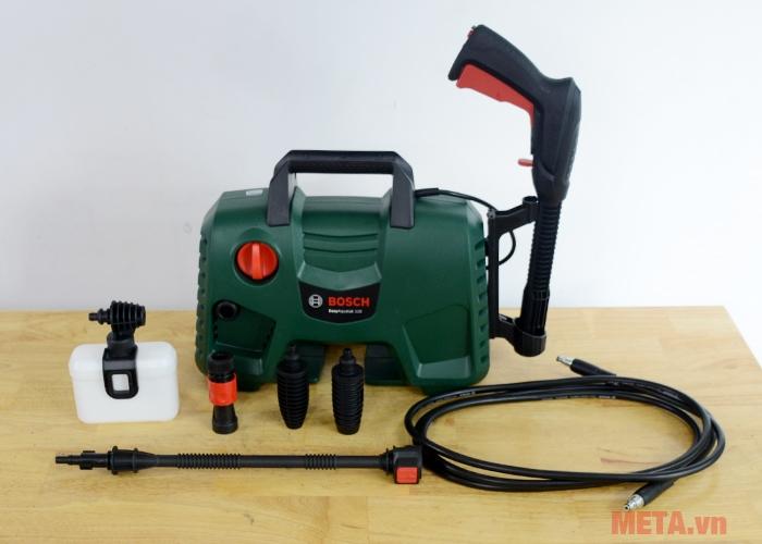 Trọn bộ sản phẩm máy rửa xe Bosch Easy Aquatak 110