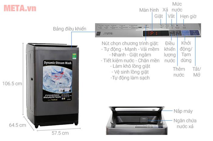 Máy giặt Hitachi SF-140XAV
