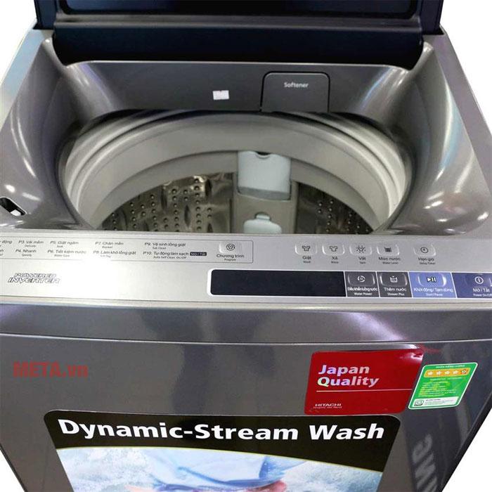 Máy giặt cửa trên Hitachi