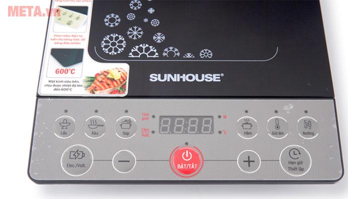 Nút điều chỉnh của bếp