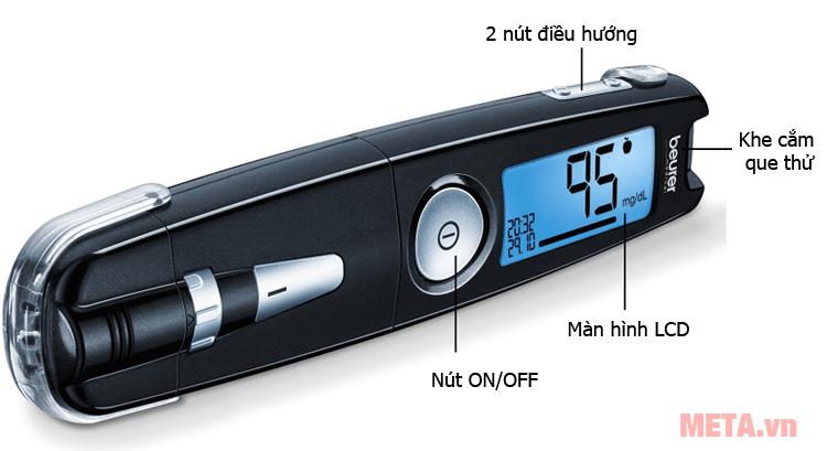 Máy đo đường huyết Beurer
