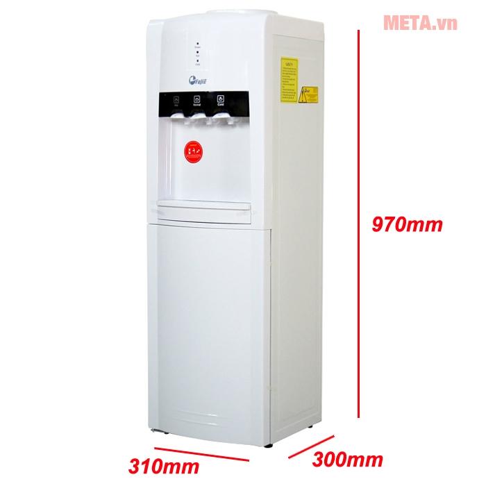 Kích thước cây nước nóng lạnh FujiE WD1800C