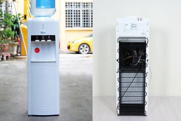Cây nước nóng lạnh FujiE WD1800C sử dụng công nghệ làm lạnh Block