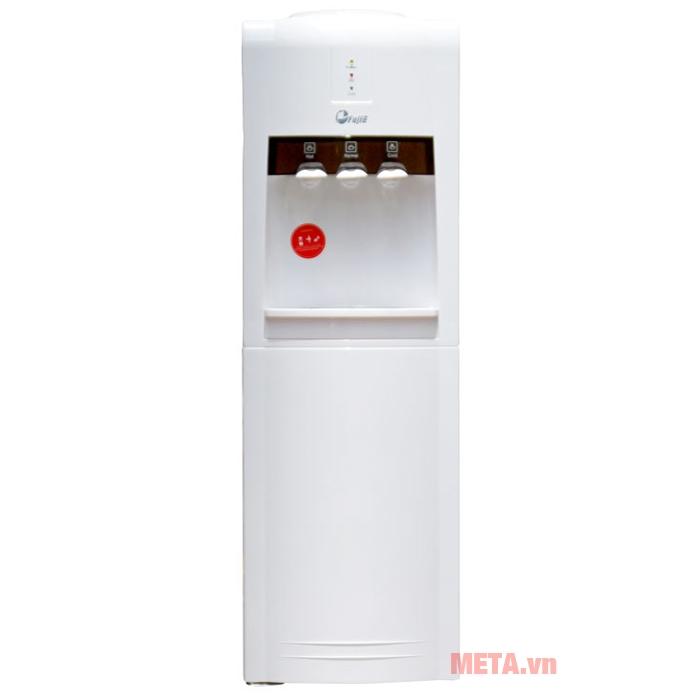 Cây nước nóng lạnh FujiE WD1800C có màu trắng trang nhã