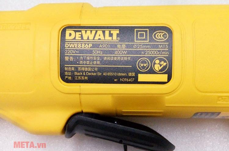 Máy mài khuôn DeWalt