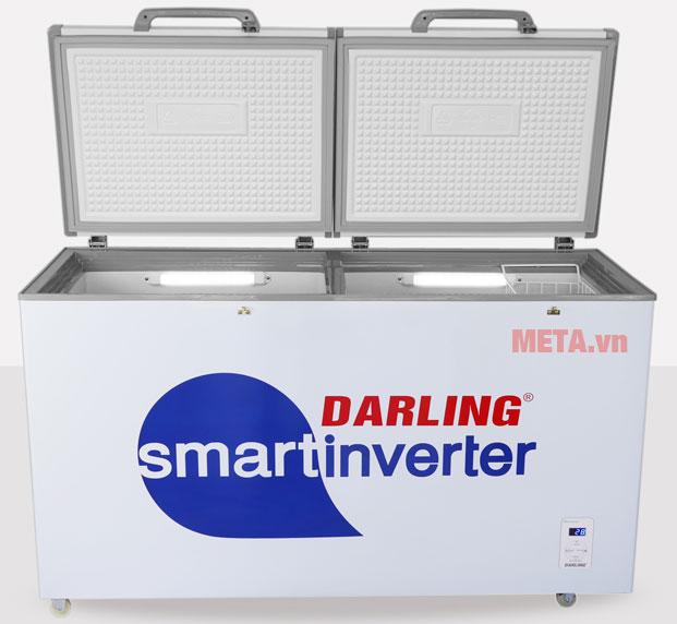 Thân tủ dày giúp giữ nhiệt tốt, tiết kiệm điện năng