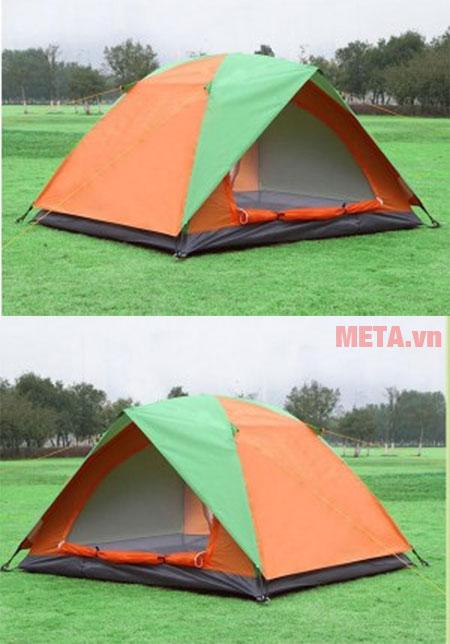 Lều được phối 2 màu