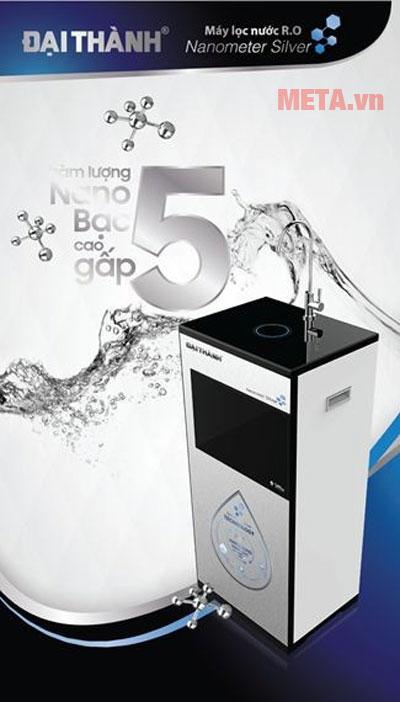 Máy lọc nước RO Tân Á Nanometer Sliver 7 lõi