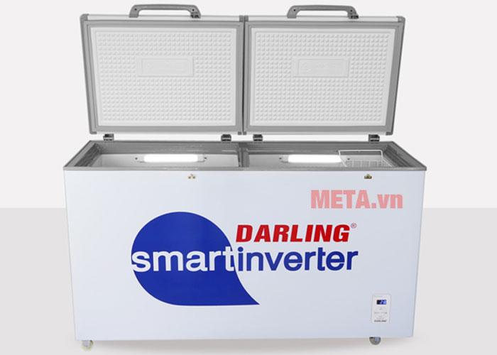 Tủ đông Darling DMF 4799 ASI có thiết kế 1 ngăn 2 cánh