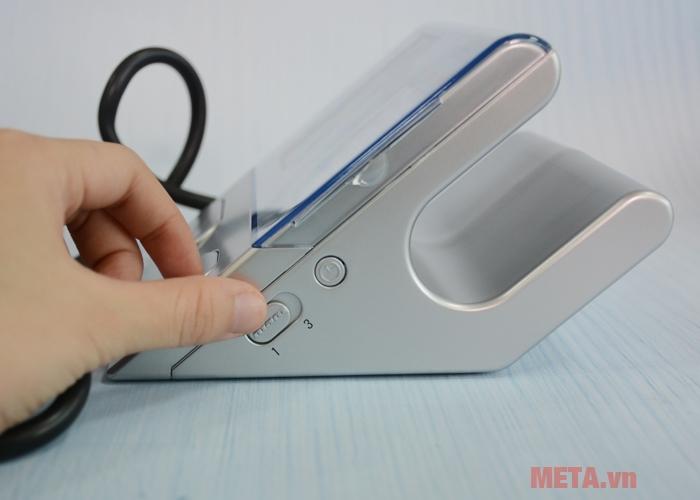 Nút chọn chế độ đo huyết áp 1 lần hoặc MAM