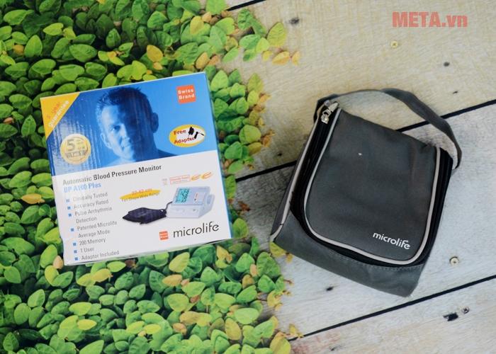Hộp đựng máy đo huyết áp Microlife BP A100 Plus
