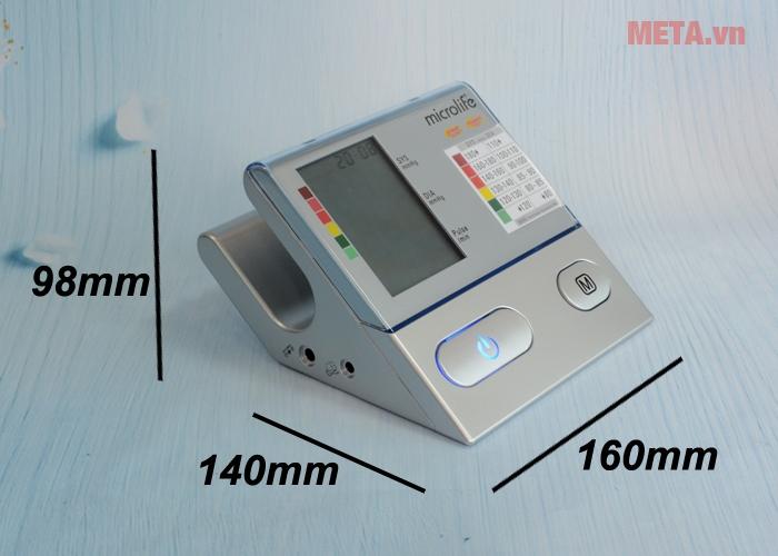 Kích thước máy đo huyết áp bắp tay Microlife