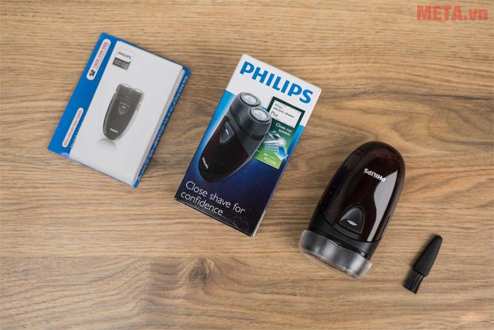 Máy cạo râu Philips PQ206 thiết kế đầu cạo xoay độc lập