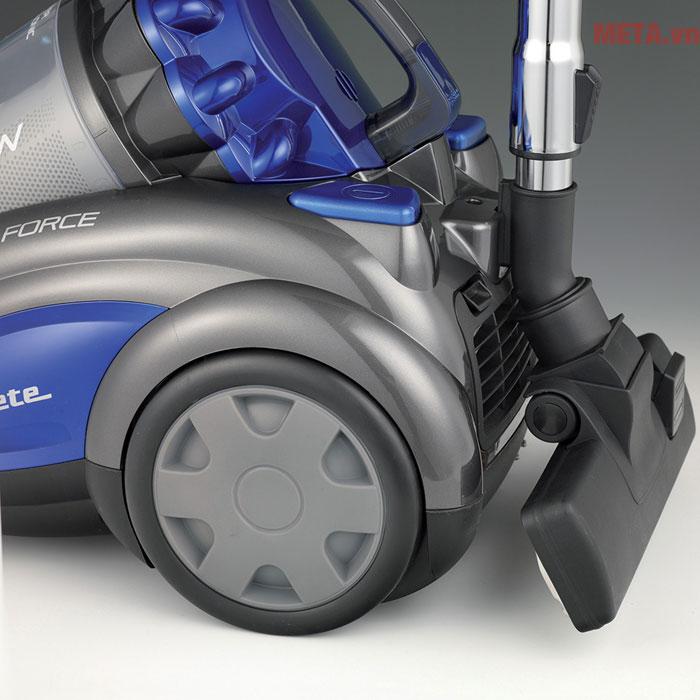 Máy có bánh xe giúp di chuyển dễ dàng