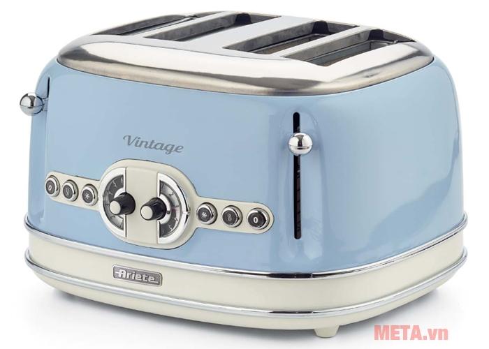 Máy nướng bánh mì, sandwich Ariete MOD 0156 màu xanh dương