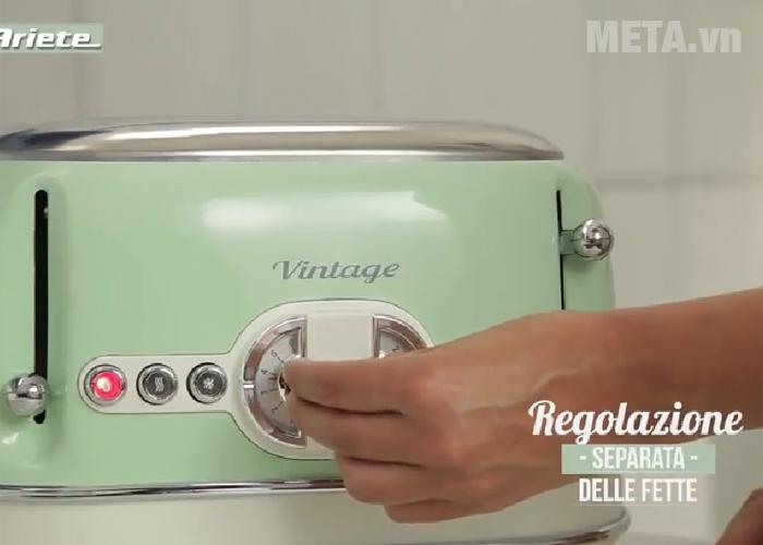 Núm vặn điều chỉnh nhiệt độ nướng của máy nướng bánh