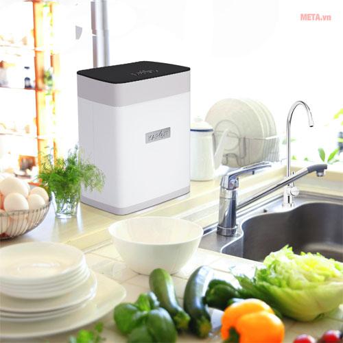 Máy lọc nước có thiết kế nhỏ gọn