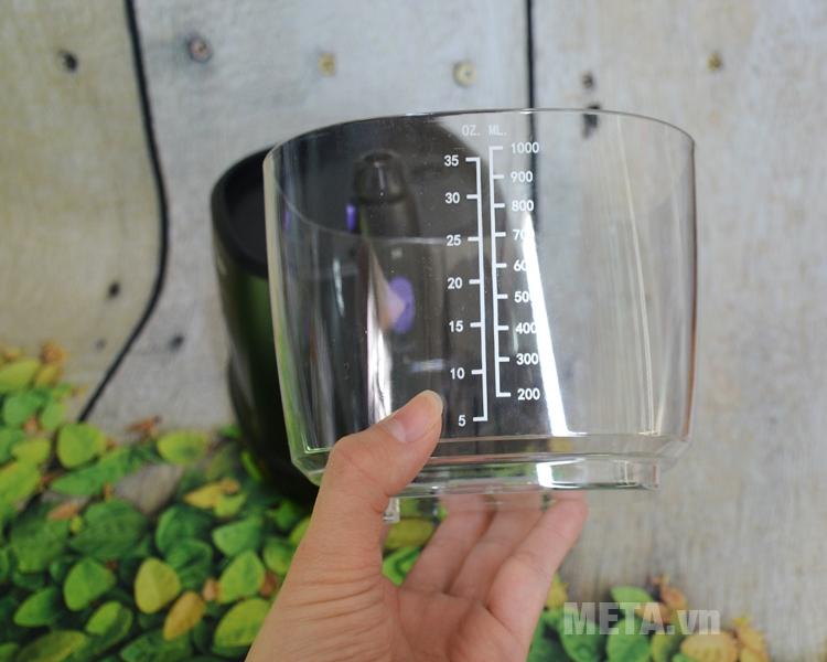 Bình nước máy tăm nước bằng nhựa