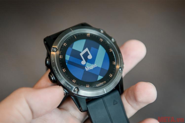 Đồng hồ Garmin fenix 5X Plus Sapphire có thể kết nối bluetooth