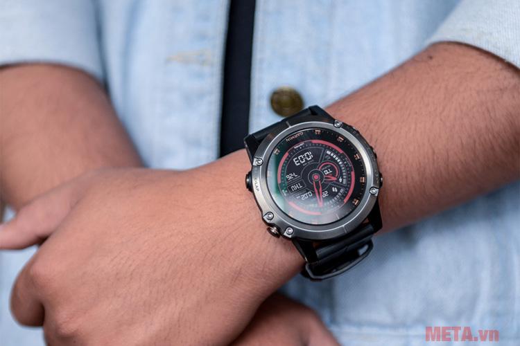 Đồng hồ fenix 5X Plus Sapphire có thể sử dụng liên tục lên đến 20 ngày