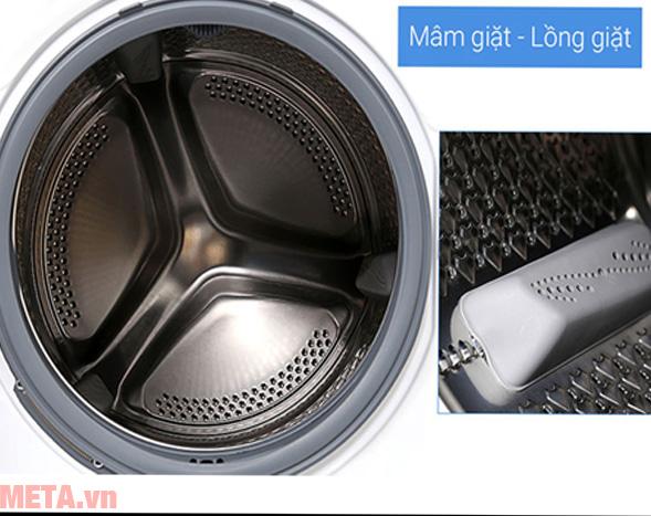 Mâm giặt và lồng giặt của máy
