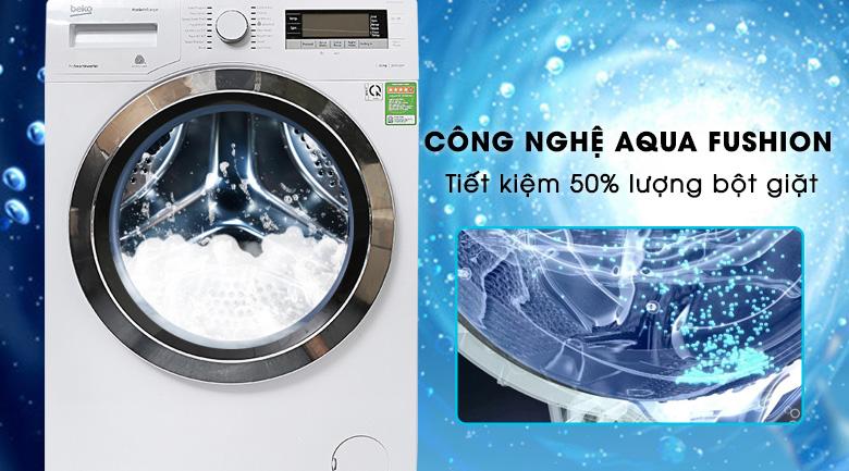Máy giặt tiết kiệm bột giặt hơn so với các dòng khác