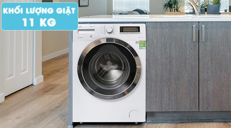 Khối lượng giặt lớn, giặt được nhiều quần áo hơn