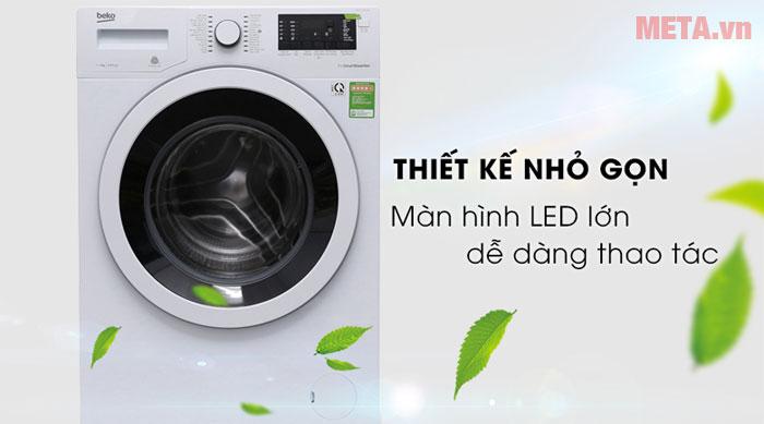 Máy giặt có thiết kế nhỏ gọn