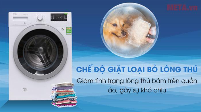 Chế độ giặt thông minh loại bỏ lông thú