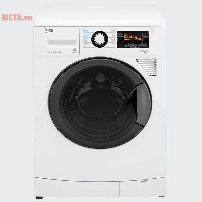 Máy giặt sấy cửa trước Beko WDA1056143