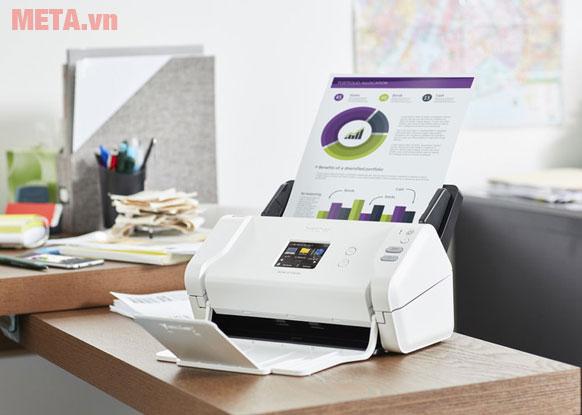 Máy scan dễ sử dụng