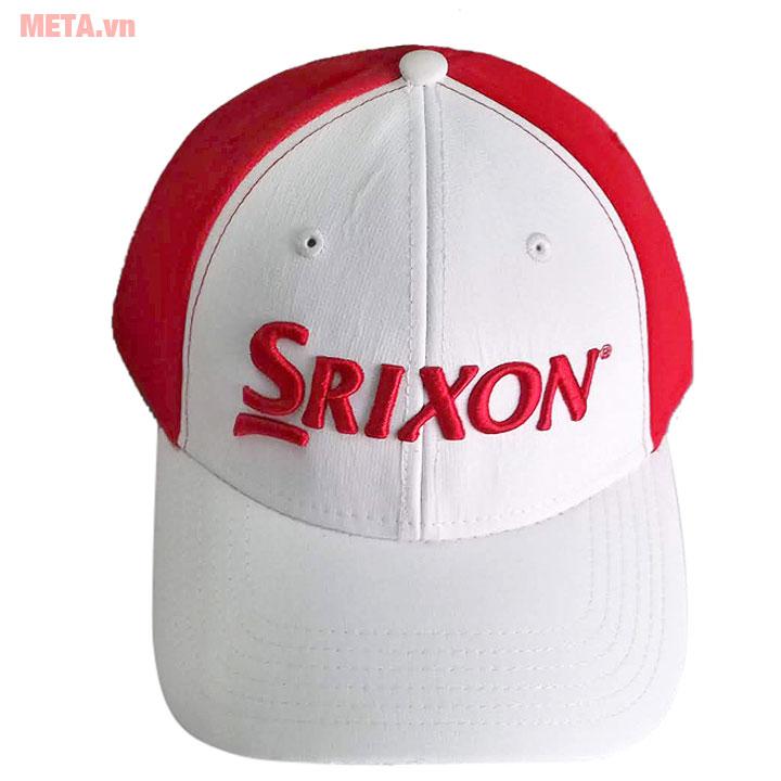 Mũ golf màu đỏ trắng