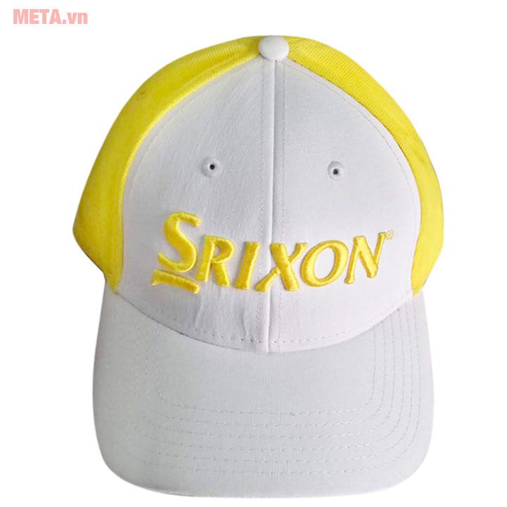 Mũ golf màu vàng trắng