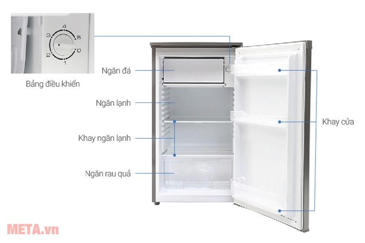 Cấu tạo tủ lạnh mini