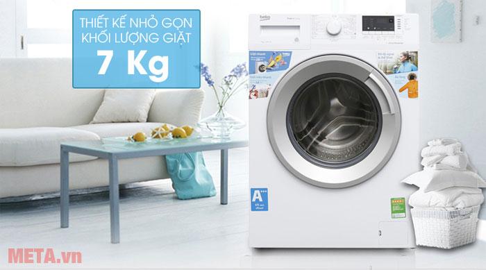 Sở hữu khối lượng giặt 7kg