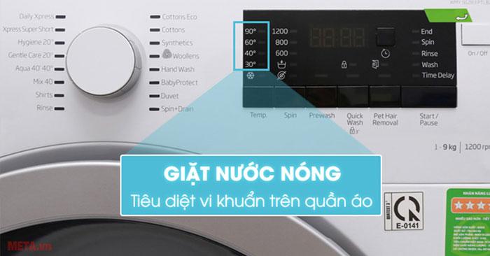 Chế độ giặt nước nóng